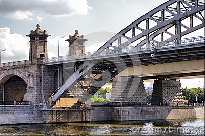 Moscow Railway bridge