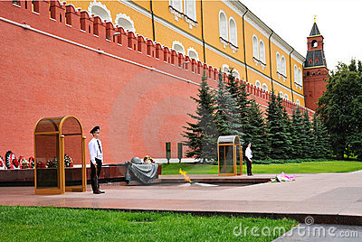 Moscow, Red Square Editorial Stock Photo