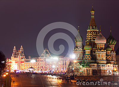 Moscow Red Square Cathedral