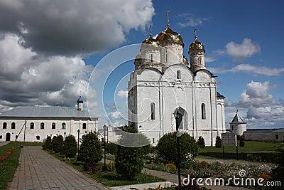 Moscow region, Mozhaisk. Luzhetsky monastery.