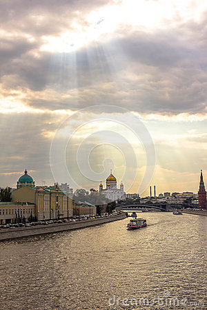 Moscow River Lights