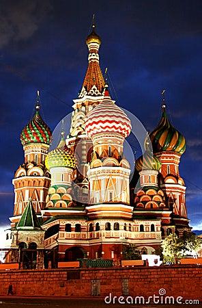 Moscow Rosji do świątyni
