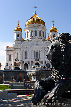 Moscow, Russia, Temple of the Christ of the Savior