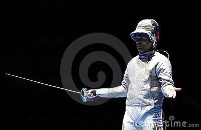Moscow Saber World Fencing Tournament Editorial Stock Photo