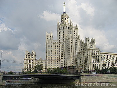 Moscow, Tall house