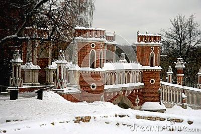Moscow. Tsaritsino