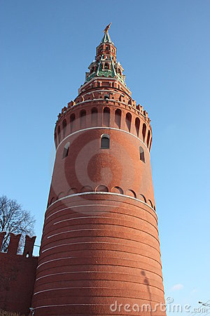 Moscow. Water-platoon tower.