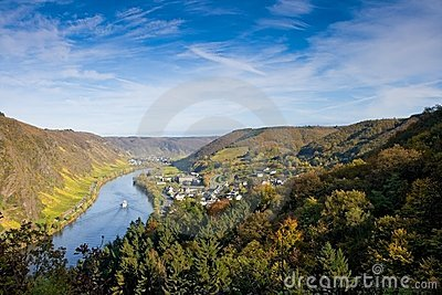 Moselle Valley near Cochem, Germany