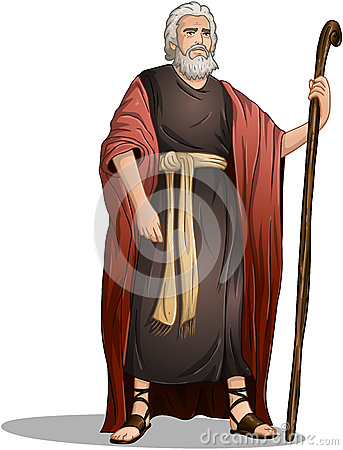 Free Moses From Bible For Passover Royalty Free Stock Photo - 39067665