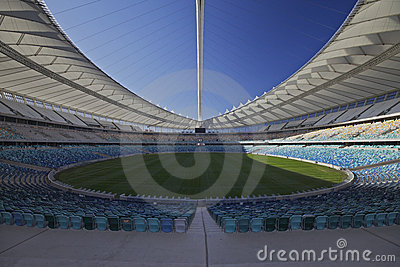 Moses Mabhida Soccer Studium in Durban Editorial Stock Photo
