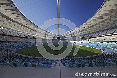 Moses Mabhida Soccer Studium in Durban Editorial Stock Photo