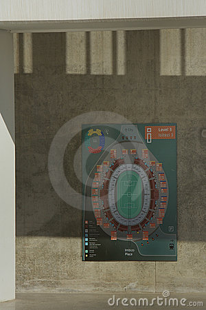 Moses Mabhida Stadium, Soccer World Cup Editorial Image