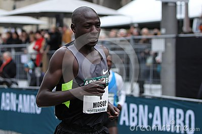 Moses Mosop Editorial Stock Photo