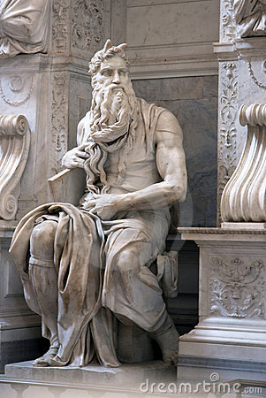Free Moses Statue Stock Photography - 10097302