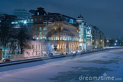 Moskow, embankment