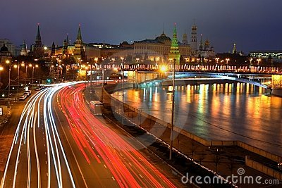 Moskow night
