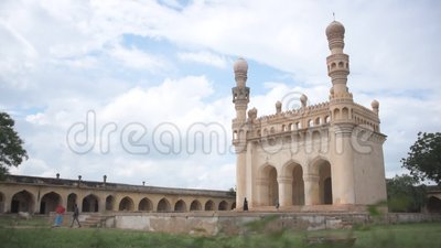 mosquée de Juma, monuments du fort de Gandikota, Andhra Pradesh banque de vidéos
