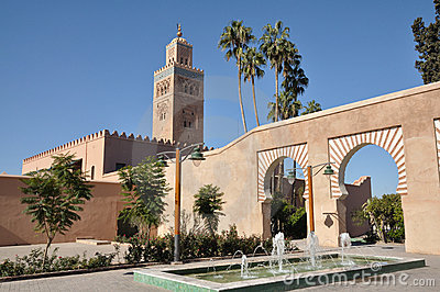 Mosquée de Koutoubia, Marrakech