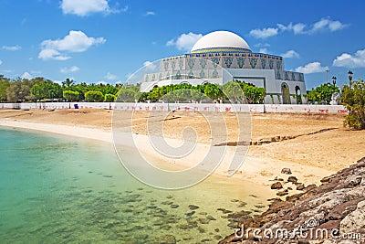 Mosque in Abu Dhabi Marina