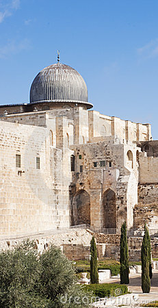 The mosque of Al-aqsa (The mosque of Omar)