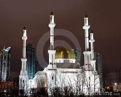 Mosque in Astana