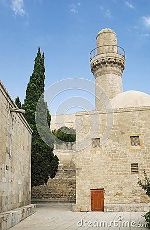 Mosque in baku azerbaijan