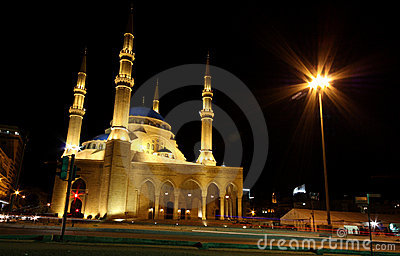 Mosque in Beirut, Lebanon