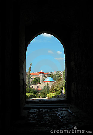 Mosque at Byblos, Lebanon