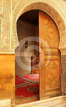 Mosque Door Entrance Royalty Free Stock Images Image
