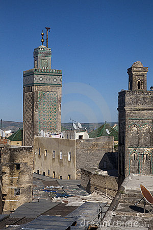 Mosque in Fes in Marocco