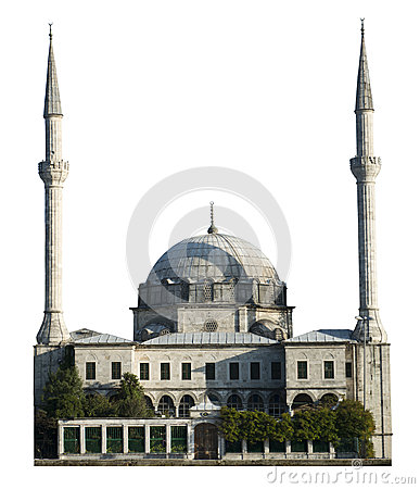 Mosque House of Worship, Islam Religion, Isolated