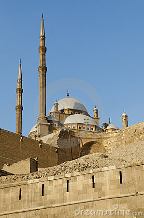 Free Mosque In Citadel Of Cairo Egypt Royalty Free Stock Images - 19969289