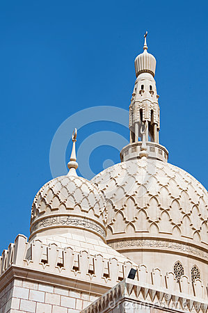 Free Mosque In Dubai Stock Photo - 28379210