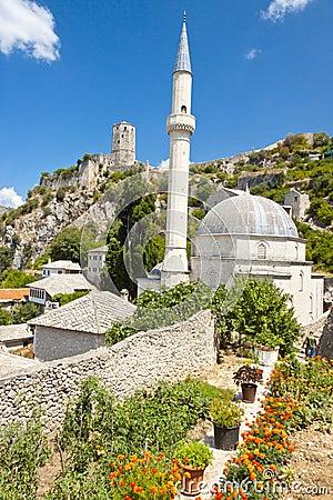 Free Mosque In Pocitelj, Bosnia And Herzegovina Stock Photo - 23554810