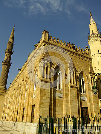 Mosque in Islamic district of Cairo