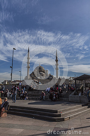 Mosque in istanbul Editorial Photo