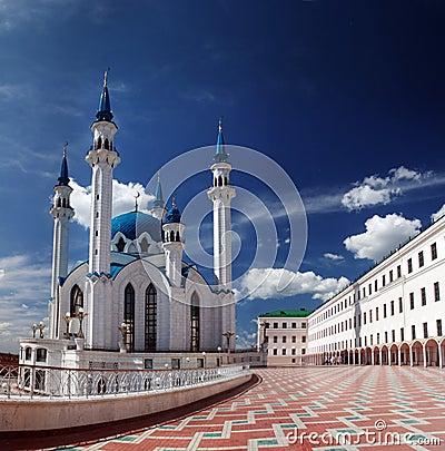 Free Mosque Kul Sharif Kazan Stock Photo - 4936660