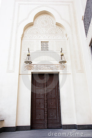 Mosque main door