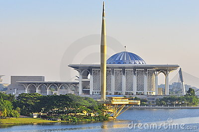 A mosque in Malaysia