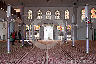 Mosque in Malaysia Editorial Photography