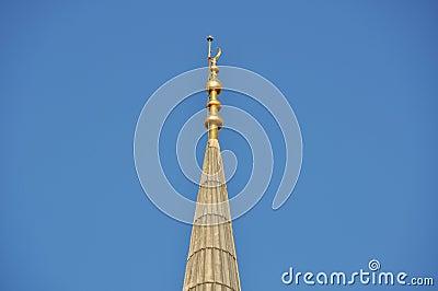 Mosque, minaret