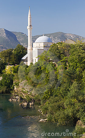 Mosque in Mostar, Bosnia and Herzegovina