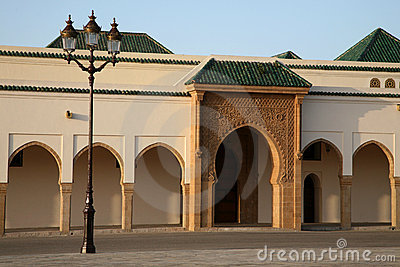 Mosque of palais royale, twarga