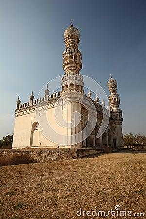 Mosque at Qutb Shahi Tombs