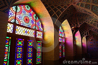mosque in Shiraz, Iran