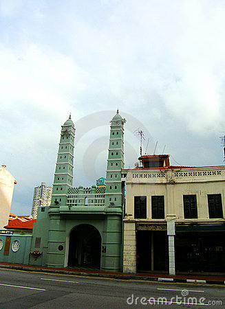 Mosque, Singapore s Chinatown