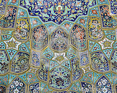 Mosque tiling