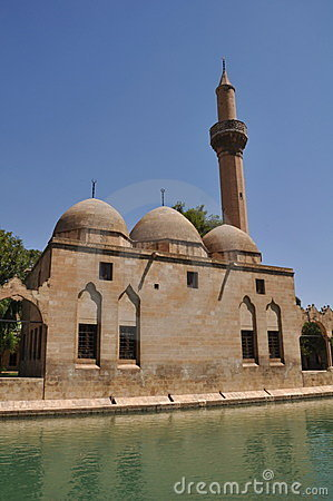 Mosque Urfa Turkey