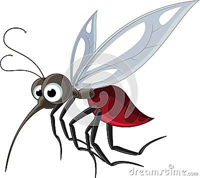 Mosquito cartoon for you design