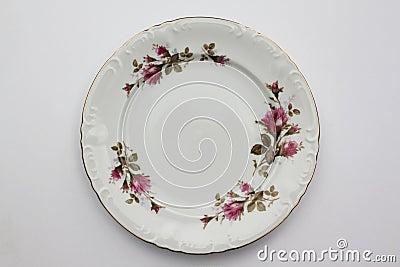 Moss Rose Plate